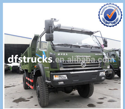 China top brand Dongfeng diesel Euro 3 3t 4x4 mini dump truck for sale