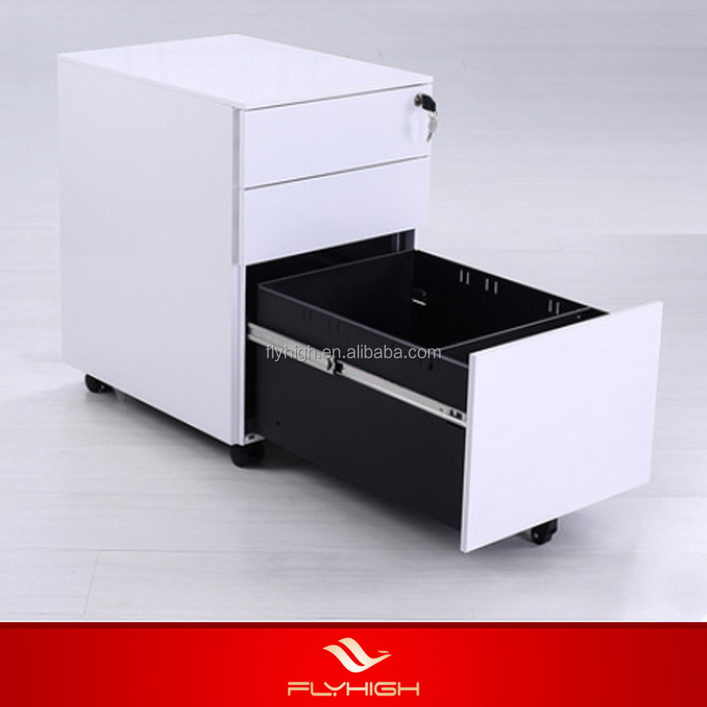 Mobile pedestal cabinets with drawers office equipment