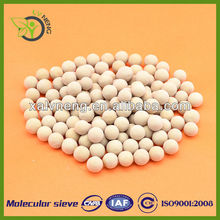 Zeolite 13X Molecular Sieve for dehydration of refrigerant and insulating glass units