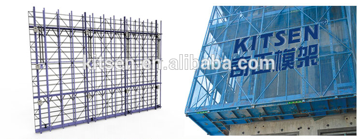 Mutifunctional Electric Self Climbing Scaffolding For High-rise Building Construction