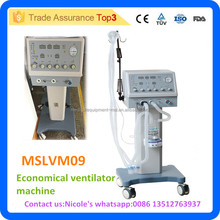 MSLVM09i Medical trolley economical ventilator machine price with more than 18L Ventilation Capacity per Minute