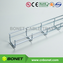 Bonet 50x50mm Small Size Zinc Plated Galvanized Steel Wire Mesh Cable Tray