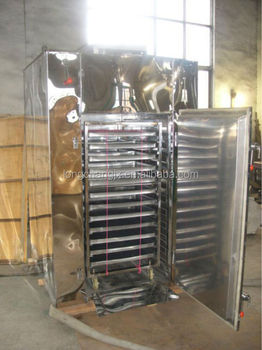 Hot Air Fruit Drying Machine / Industrial Tray Dryer