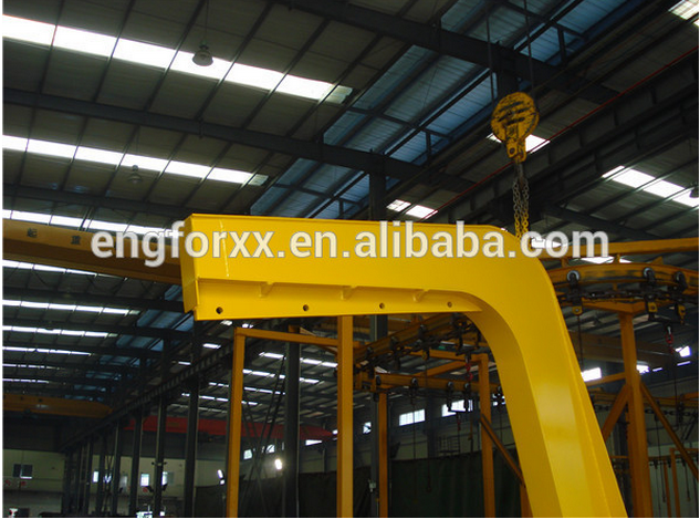 Forklift Mounted Crane Jib forklift lifting attachment