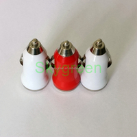 Portable 1 port Intelligent universal single USB car charger for for Iphone 5 / 6/ iPod/Ipad/samsung