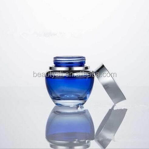 20ml 30ml 50ml Packaging wholesale cosmetic glass cream jar