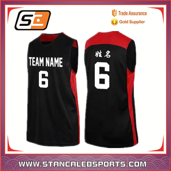Stan Caleb Adult Old School Basketball Jersey latest best Sublimated reversible Custom Basketball Jersey design
