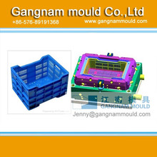 ZY3003 plastic injection crate mould