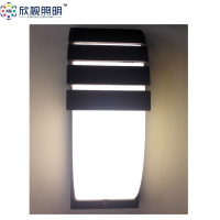 LED Wall Sconces Aluminum Lights Fixture On/Off Decorative Lamps Night Light for Pathway