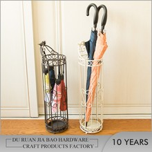 Indoor Metal Umbrella Stand / Decorative Wet Umbrella Holder / Home umbrella rack