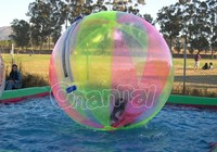 colorful water ball inflatable bumper ball zorbing on water, water polo ball for sale