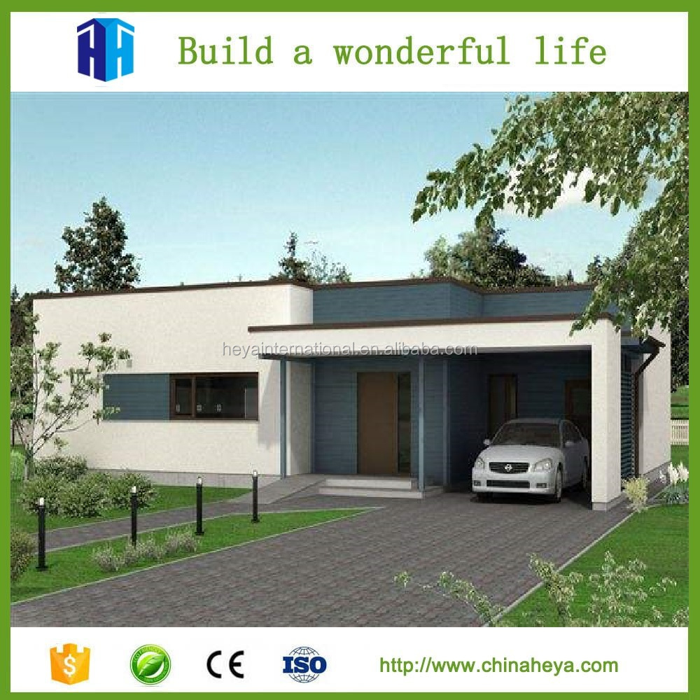 Low cost prefabricated townhouses and wall panels