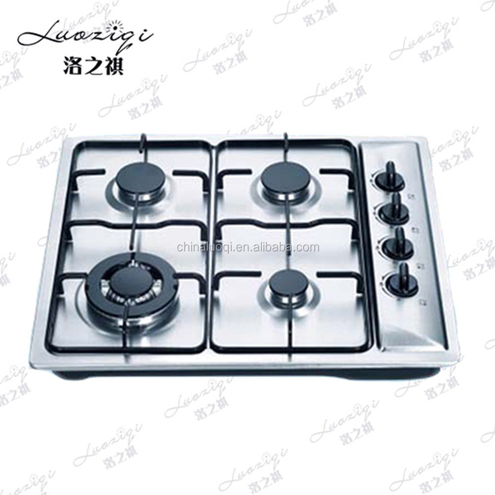 Portable Stainless Steel Panel 3 Burner Gas Stove of Gas Stove Parts