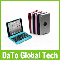 Free Shipping 2 in 1Mini Bluetooth 3.0 Wireless Keyboard Case For iPad Mini 3 2 1