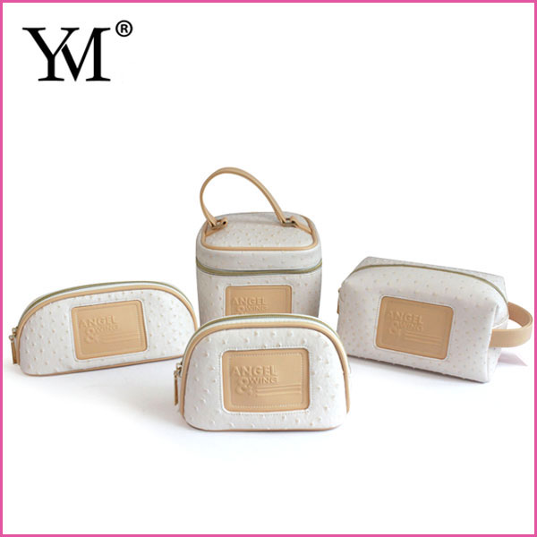 2018 OEM fashion custom personalized plain toiletry makeup pouch wholesale travel cosmetic bag set