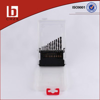 13 PCS HSS DRILL SET PLASTIC BOX