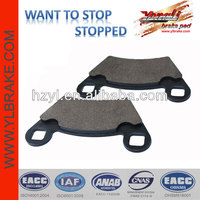 High temperature resistant brake side by side utv