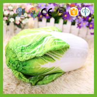 New design hot selling simulated vegetable and fruits plush toys cabbage