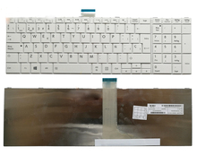 Original SP/spanish keyboard for Toshiba Satellite C850 C850D C855 C855D white sp keyboard