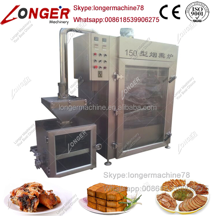 Commercial Fish Tofu Sausage Smokehouse for Sale