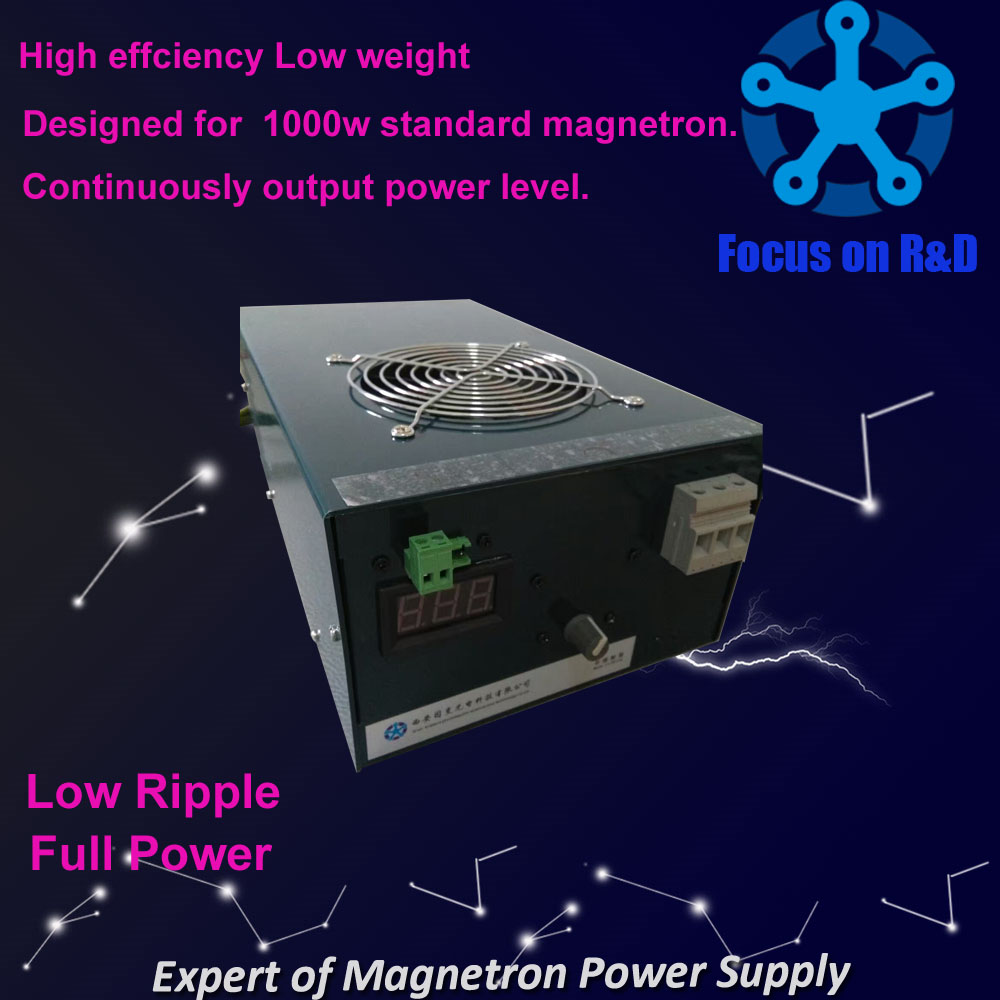 low ripple small fluctuation switching mode power supply for 1000w magnetron
