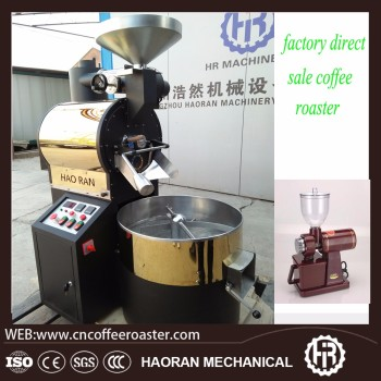 Gas heating 6kg Coffee Roaster commercial use coffee roasting