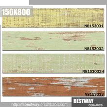 New floor tile imitation wood fashion 150x800 ceramic tile
