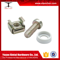Spencial cage nut, Cap Nut,Wing Nut with zinc plated spring steel square lock cage nut