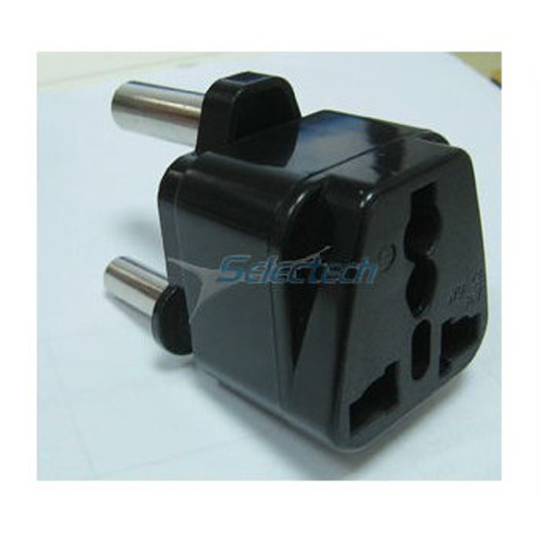 SE-UA10L top Large south Africa Universal 3 round pin india plug adapter