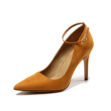 Luxurious elegant modern high quality snake genuine leather material pencil high heel italian matching shoes and bags