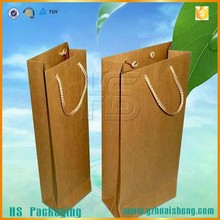 High Quality Long Life Low Price Food Grade Kraft Paper Shopping Bag