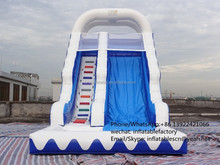 PK15080305 Giant inflatable slide with climbing handle commercial grade slide inflatable