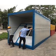 Easy Assembly 10ft 20ft folding container office modules portable tiny temporary structure office