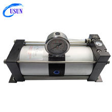 Usun brand Cheap Model: AB02 2:1 16 bar output Mini air pressure booster for tank filling