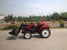25HP mini tractor for hot sale with loader and backhoe