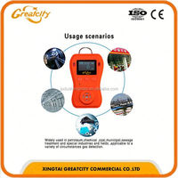 portable Handheld 4 Gases Multi Gas Detector (co O2 H2s Ex Flammable Gas)