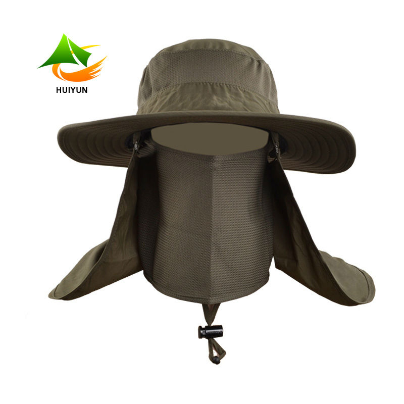 Outdoor Fishing Boonie Hat Sun Hat 360 Degree Full UV Protection