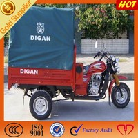 New type Customized for cargo tricycle with canopy / High Quality speed 150cc for three wheeled motorcycle on sale