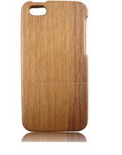 high quality two parts real sapele wooden mobile phone cover case for iphone5C,cheap mobile phone case