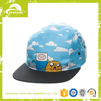 custom kids design baby hat 5 panel cap for children
