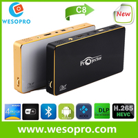 Hot seller !!! Real 80 Lumens Android smart Blu-ray full hd 3D led projector