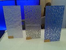 CMAX Texture Treatment and Colorful PMMA Honeycomb Panel
