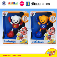 2015 hot funny cute plastic circus troupe twister game baby toy