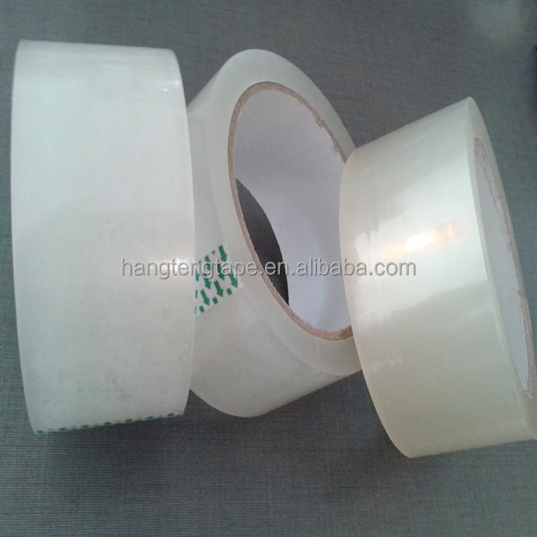 2016 hot selling and cheapest pp packing tape/thick clear packaging tape