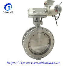 API High quality Handle wheel Wafer Flange Midline Butterfly Valve