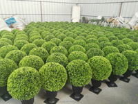 New product wholesale artificial topiary ball artificial buxus balls grass ball for decotaion