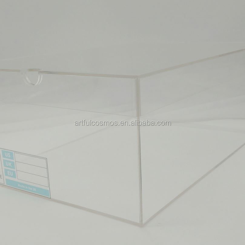 Acrylic Box Display With Door Acrylic Basketball Nike Shoes Cheap Shoe Boxes Box