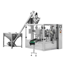 Automatic Filling and Sealing Machine for Food Additives Powder Powder with automatic Auger filler