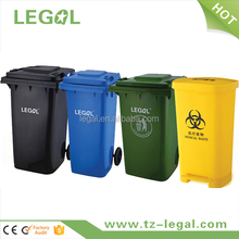 recycling bin 360liter plastic rubbish bin stand with wheels sale price