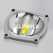 highway lighting anti-dazzling 145 degree COB glass led lens (KR107-6B)